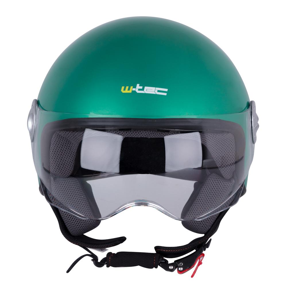 w tec fs 701g retro green helm f r den motorroller. Black Bedroom Furniture Sets. Home Design Ideas