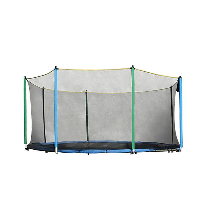 sicherheitsnetz f r trampolin insportline 180 cm 6 stangen insportline. Black Bedroom Furniture Sets. Home Design Ideas