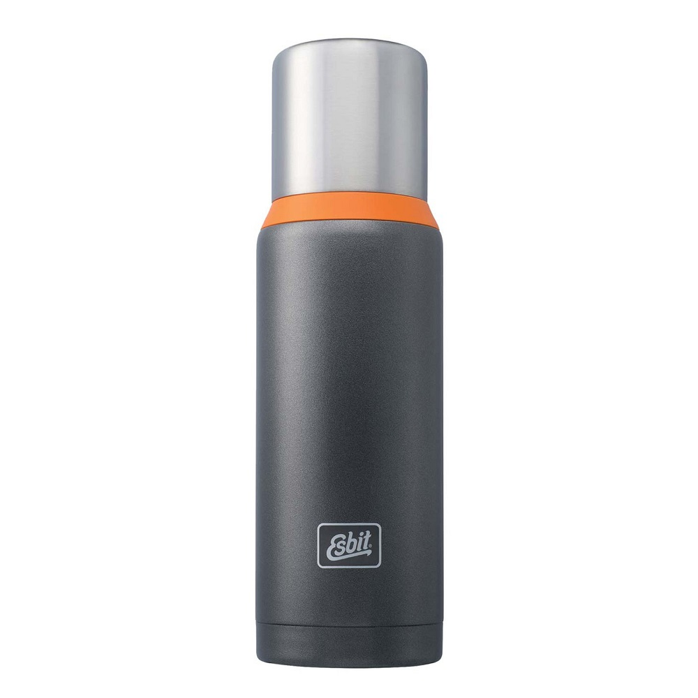 Esbit 1 Liter grau-oranger Thermo Isolierbehälter - inSPORTline 7521d7ba9b6