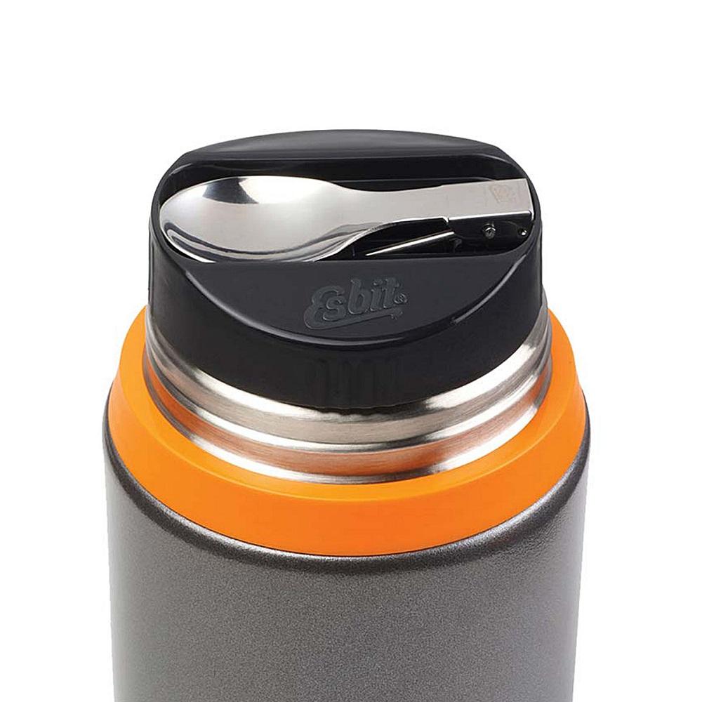 Esbit TOP + Löffel Thermo Isolierbehälter für Speisen. Outdoor Geschirr ... a2bb7bf61c1