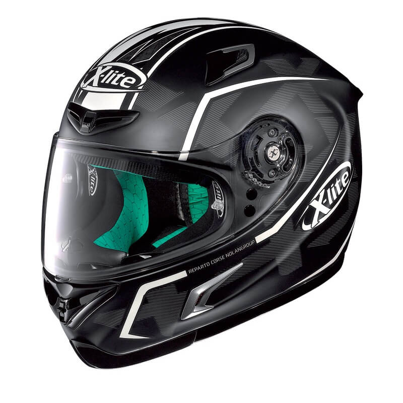 x lite x 802rr ultra marquetry carbon white motorradhelm. Black Bedroom Furniture Sets. Home Design Ideas