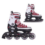 2-in-1-Skates WORKER Gondo Red
