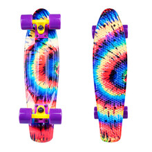 "Penny Board WORKER Colory 22"" - Acid Rainbow (regebogen)"