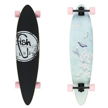 Fish Butterfly Longboard 40""