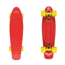 "Fish Classic 22"" Penny Board - Red-Yellow"