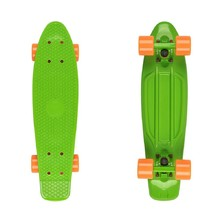 "Fish Classic 22"" Penny Board - Green-Orange"