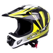 W-TEC FS-605 Allride Downhill Helm - Yellow Graphic