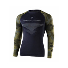 Moto thermo triko Rebelhorn Freeze Jersey - Camo