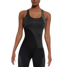 BAS BLACK Escape-Top 50 Damen Sporttop - grau-schwarz