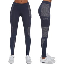 BAS BLACK Passion Damen Sport Leggins - blau