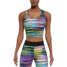 BAS BLACK Tropical-Top 30 Damen Sporttop - bunt