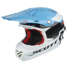 Motocrosshelm Scott 350 Pro Race - blau-orange