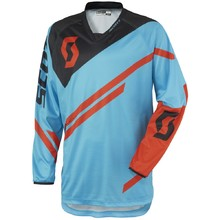 Motocross Jersey Scott 350 Track - blau-orange