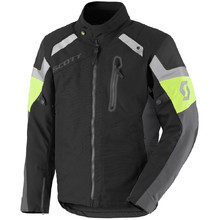 SCOTT Definit Pro DP MXVII Motorradjacke - Black-Yellow
