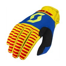 SCOTT 350 Track MXVII Motocross Handschuhe - Yellow-Red
