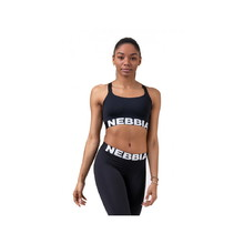 Nebbia Lift Hero Sports 515 Damen Mini-Top - schwarz