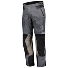 SCOTT Dualraid Dryo Motorradhose - black/iron grey