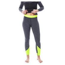 Jobe Reversible Neoprenleggings für Damen - grau-grün