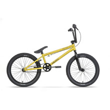 "Galaxy Early Bird 20"" BMX Fahrrad - Modell 2018 - gelb"