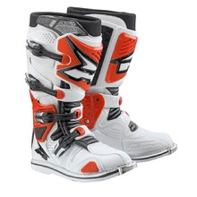 AXO A2 Motocross-Stiefel - weiß-rot