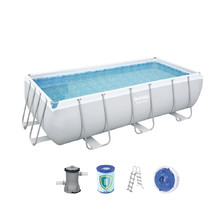 Bestway Power Steel 404 x 201 x 100 cm Rechtförmiger Pool
