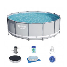 Bestway Power Steel 427 x 122 cm Pool mit Filter