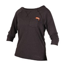 Jobe Loose Fit Grap Damen Shirt - schwarz