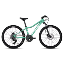 "Ghost Lanao D4.4 AL 24"" Junioren Fahrrad - Modell 2020 - Jade Blue / Star White"