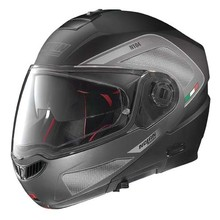 Motorradhelm Nolan N104 Absolute Tech N-Com - Flat Black