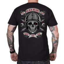 BLACK HEART Ride or Die T-Shirt - schwarz