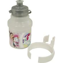 Minions Fluffy 350 ml Fahrradflasche mit Halter weiß 7e5ca40debf