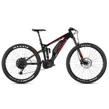 "Ghost Hybride SL AMR S2.7+ AL 29"" - Vollgefedertes Elektrofahrrad Modell 2019 - Night Black / Riot Red / Iridium Silver"