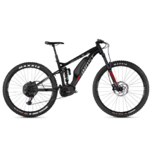 "Ghost Hybride SL AMR X S3.7+ AL 29"" - Vollgefedertes Elektrofahrrad Modell 2019 - Night Black / Iridium Silver / Riot Red"