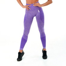 Boco Wear Violet Melange Push Up Damen Leggings - lila