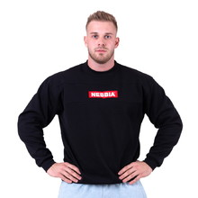 Nebbia Red Label 148 Herren Sweatshirt - schwarz