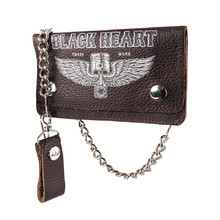 Black Heart Rahakot Brown Brieftasche - braun