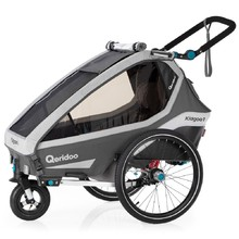 Qeridoo KidGoo 1 Multifunktionaler Kinderwagen 2020 - Anthracite Grey
