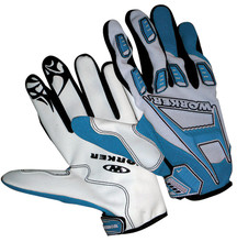 Motocross-Handschuhe WORKER MT 787 - blau