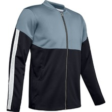 Pánská mikina Under Armour Athlete Recovery Knit Warm Up Top - Ash Gray