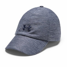 Under Armour Heathered Play Up Cap Damen Kappe - Blue Ink