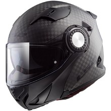 LS2 FF313 Vortex Solid Carbon Klapphelm - Solid Carbon