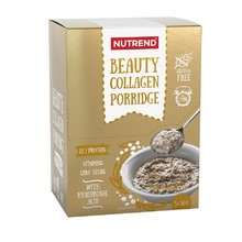 Proteinová kaše Nutrend Beauty Collagen Porridge 5x50g