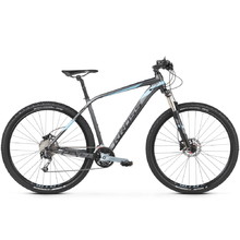 "Kross Level 5.0 27,5"" Mountainbike - Modell 2020 - schwarz/graphit/metall"