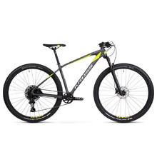 "Kross Level 12.0 29"" Mountainbike - Modell 2020 - grafitová/limetová/stříbrná"