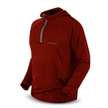 Sweatshirt Trimm FABRI fleece - rot