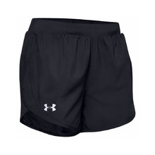 Under Armour W Fly By 2.0 Short Damen Laufshorts - schwarz