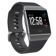 Fitbit Ionic Smart-Uhr - Charcoal/Smoke Gray
