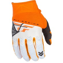 Fly Racing F-16 2018 Motocross Handschuhe - orange-weiß