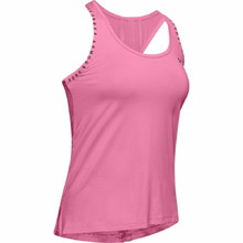 Under Armour Knockout Tank Damen Tanktop - Lipstick