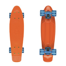 "Fish Classic 22"" Penny Board - Orange-Blue-Transparent Blue"